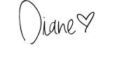 Diane handwrite